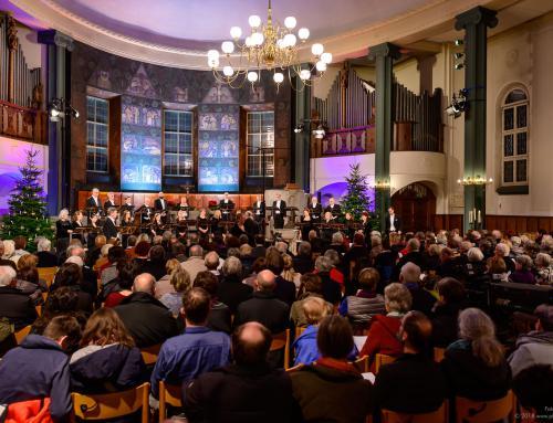 SWR Vokalensemble in der Gaisburger Kirche